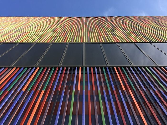 Munich, Germany Architecture Day LINE Low Angle View Multi Colored Museum Brandhorst Nature No People Outdoors Pattern Sky