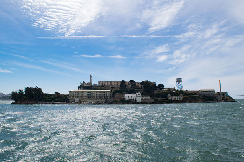 Alcatraz Island Architecture Built Structure Cloud - Sky History No People Sky Travel Destinations Water Waterfront
