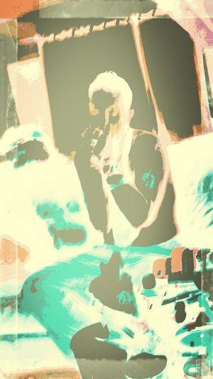 Addiction, Oi Oi Punk Rock boy blue, cute boy,