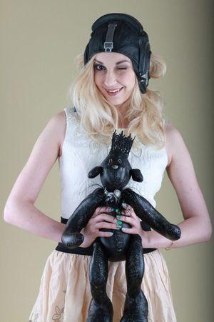 Model: Maria. Portrait Colour Portrait Teddybear Girl