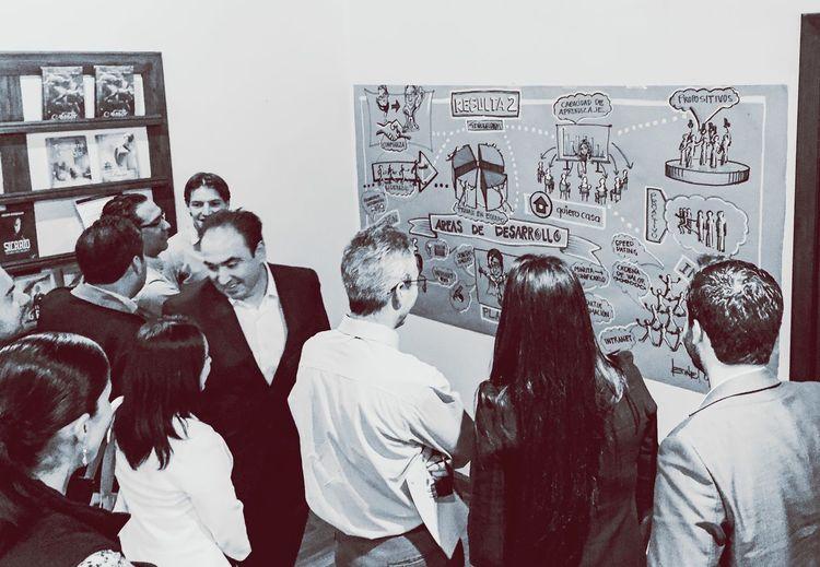 Ideas gráficas en Evento / León Casas Arte Mural Exposition Grafica Ilustracion Ilustration León Casas