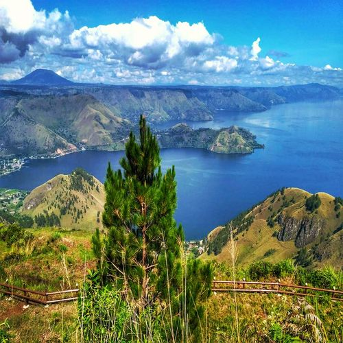 The biggest lake in, North Sumatera, view from top hills Lake Lake View Danautoba Lake Toba Lake Toba From Above Lake Toba From Top Lake Toba Indonesia Cloud - Sky INDONESIA Indonesia Photography  Indoor Photography Medan Indonesia Medan Indonesia Lake Toba Landscape Tree Water Mountain Sea Beach Sky Landscape Cloud - Sky Active Volcano My Best Travel Photo A New Beginning