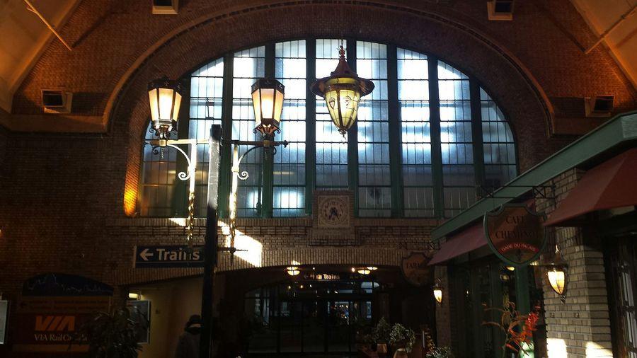 Quebec Gare Gare Du Palais