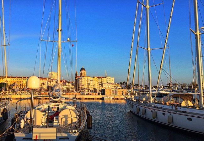 Ville Saint Raphael Voilier Bateau Water Port Boat Mer Sea Au Bord De L'eau Bord De Mer Méditerranée Côte D'Azur Mer Mediterranée Au Bord De Mer