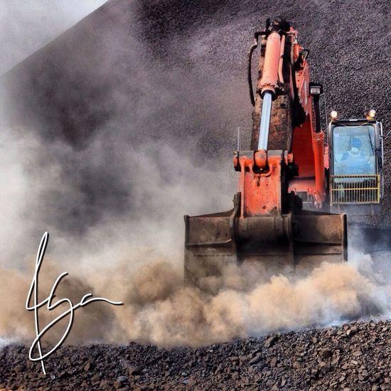 Latepost coal mining operation photo shoot Raz Razhar INDONESIA Borneo