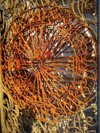Circle Close-up Geometric Shape Metal Metal Art Metalwork Curves Curves And Shapes Curvesarebeautiful Swirls Swirling Swirl Design Pattern Pattern Photography Wheel Circular Circular Pattern Abstract Gate Gateway Abstract Photography Chiang Mai Chiang Mai | Thailand Thailand