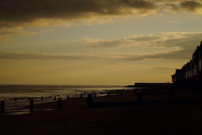 Sunset Frinton Beach