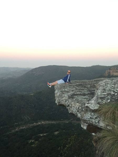 The Journey Is The Destination On The Way Kwazulunatal Oribi Gorge Cliff Nature Sunset Scenic Stunning View The Overhanging Rock