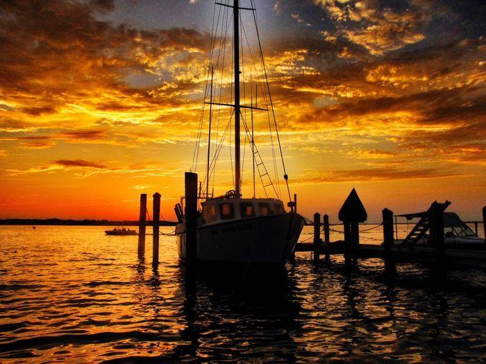 Boat Sea Sea And Sky