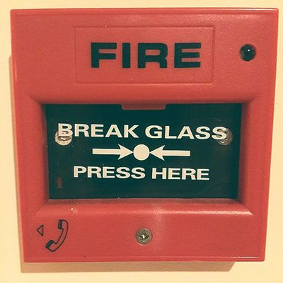 Safety Safety Fire Iseng Red
