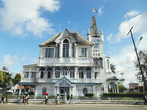 Georgetown Open Edit Eye For Photography Check This Out Georgetown,guyana Eye4photography  EyeEm Gallery Open Edit For Everyone Cityhall City Hall Mayors Office Buildings & Sky