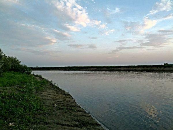 The river DESNA, UKRAINE