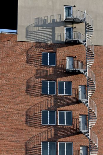 Outdoor Malmö Architecture Backgrounds Brick Wall Bricks In The Wall Building Building Exterior Built Structure City City Life Low Angle View Malmö Repetition Simmetrical Simmetrical Building Simmetry Sweden Sweden Architecture
