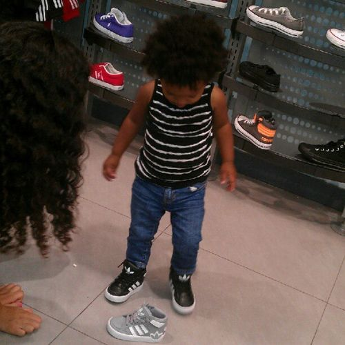 About to buy my daughter the gray Adidas right now... @adidasoriginals Represent