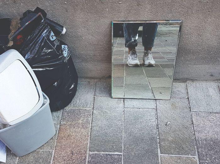 Mirror Reebok Shoe