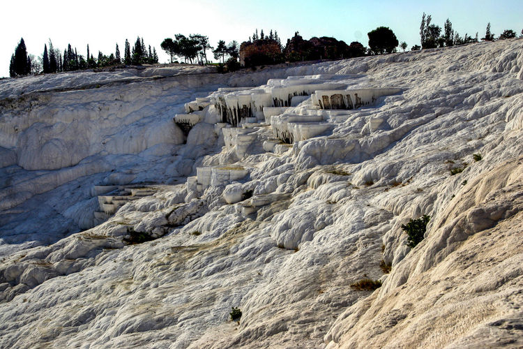 Beauty In Nature Landscape Miracle Of Nature Nature No People Outdoors Pamukkale Pamukkale/Turkey Places Of Interest Spa