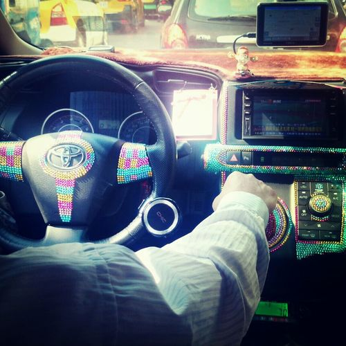 bling! bling! taxi driver~ Taxi Ride