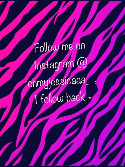 Follow me you guys<3