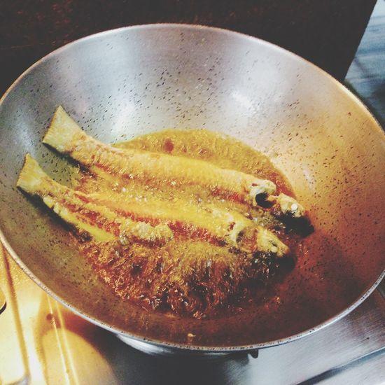 Fry before curry... Fish BangaLee Food Porn Eyeemkolkata