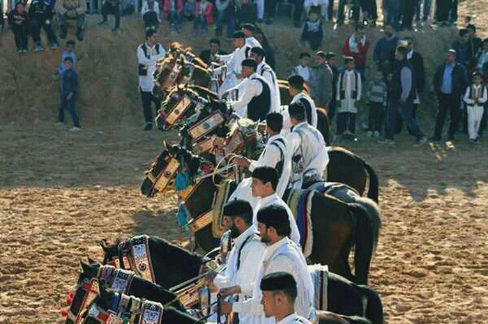 Large Group Of People Traditional Clothing Cultures Tradition Men Adult Togetherness People Adults Only Traditional Dancing Real People Outdoors Day Only Men Musician Crowd Mammal