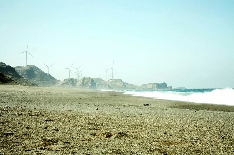 Bangui Wind Farm, Ilocos Norte, Philippines. December 2014. Traveling Adventure Landscape Nature On The Road Starting A Trip Sea People Beach Travel