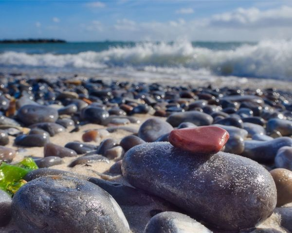 • Pebble Beach • Flintstone Feuerstein Helgoland_collection Helgoland EyeEm Nature Lover EyeEm Best Shots - Nature Sea Water Beach Land Pebble Nature Sky Beauty In Nature Stone Scenics - Nature Solid Focus On Foreground Tranquil Scene No People Close-up Day Tranquility