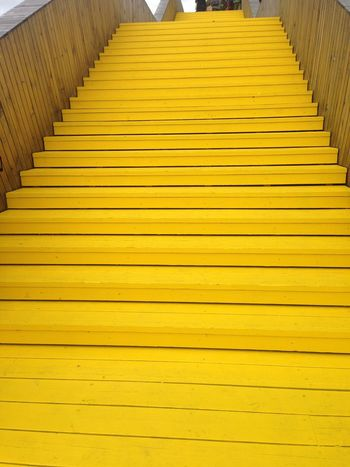luchtsingel rotterdam Paint The City Yellow Yellow City Rotterdam Schieblok Luchtsingel Brug Stairs_collection Stairs Yellow Color Wood - Material Cityscape Streetphotography EyeEm Selects Luchtsingel Architecture_collection Architecture Rotterdam Architecture