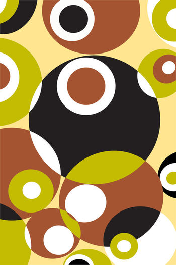 Abstract of geometric shapes pattern. retro style Abstract Backgrounds Abstract Art Geometric Shape Geometric Shapes Geometric Geometric Abstraction Retro Retro Styled Vintage Style Classic Graphic Graphic Design Design Backgrounds Circle Full Frame Indoors  Shape Multi Colored No People Pattern Close-up Still Life Variation Choice Abstract Art And Craft Studio Shot Decoration Illuminated Yellow Digital Composite Art And Craft Equipment Circle Pattern, Texture, Shape And Form