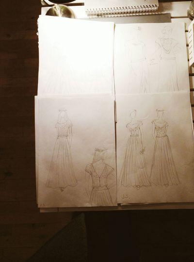 Drafts Wedding Dress