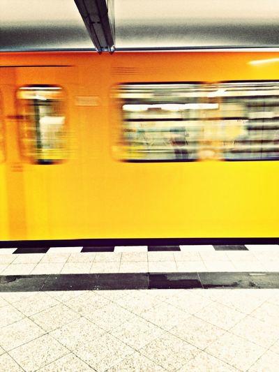 Subway Commuting Public Transportation