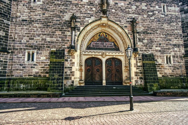 St.Jakob Building Exterior Architecture Entrance Built Structure Building Arch Door Brick Façade No People Day The Past Place Of Worship History Brick Wall Wall City Window Outdoors