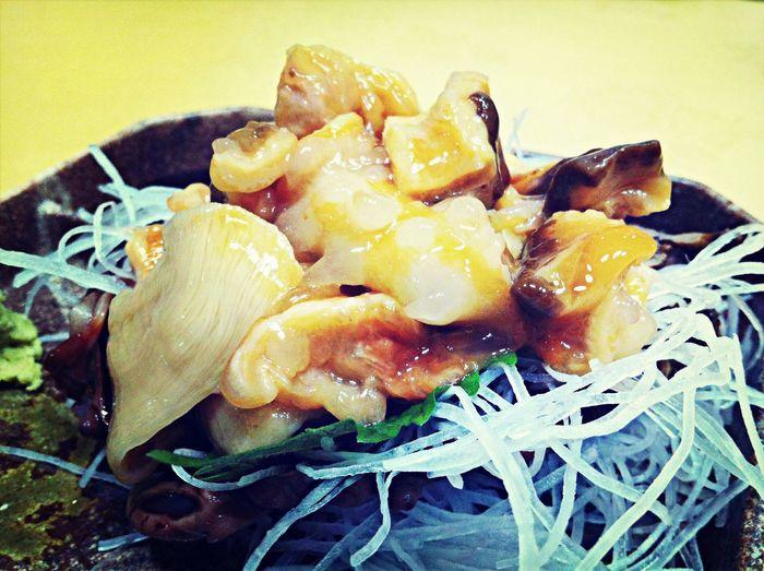 う、(゚Д゚)ウマー こんな味濃いほや刺し初めて…… Ascidiacea Seafood Sashimi  Japan