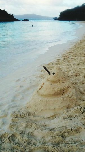 Christmas Around The World Trunk Bay, St. John VI Sandcastles Merry Christmas From The Caribbean Life Is A Beach Enjoying The Sun