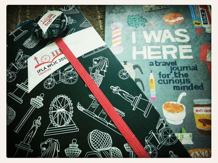 My travel journal full of Singaporean's memories.