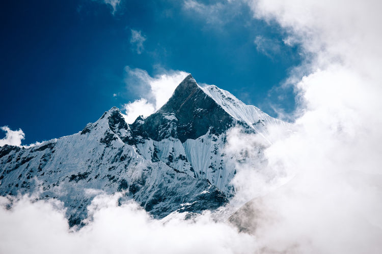 A 10-Day Trekking Adventure into Nepal's Annapurna Range Adventure Annapurna Beauty In Nature Cloud - Sky Hike Hiking Himalayan Himalayas Journey Mountain Mountain Range Mountaineering Mountains Mountainscape Nature Nepal Nepal Travel Outdoors Scenics Sky Snow Tranquil Scene Tranquility Travel Trekking The Great Outdoors - 2017 EyeEm Awards Lost In The Landscape