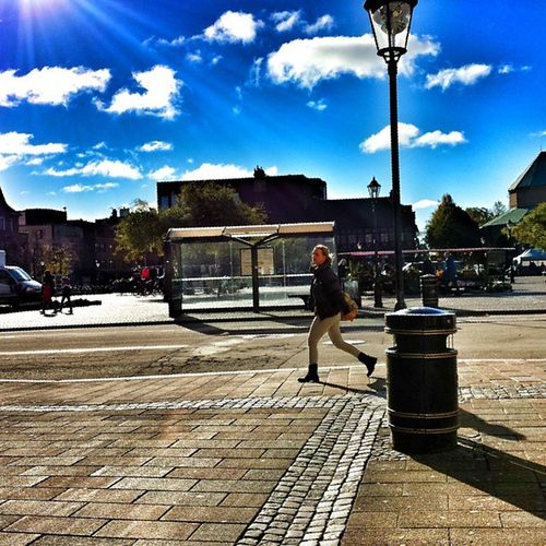 Storatorg Halmstad Halland H östdag höst autumn internationalpictures hejhalmstad 7dagarbilden fall