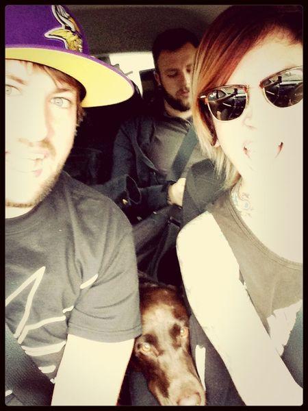 Home bound!! Dog Love Roadtrip Taking Photos Honda Fit