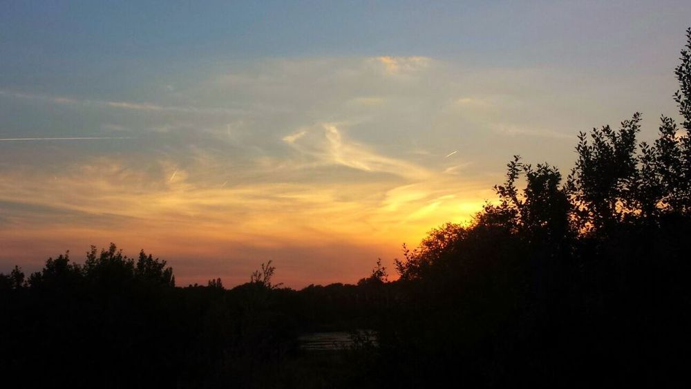 Sunset Summer 2015 Beautiful Clouds And Sky Countryside Galaxys4