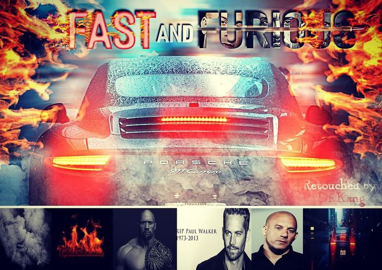 Photoshop Poster Remake Photoshop Poster Fastandfurious