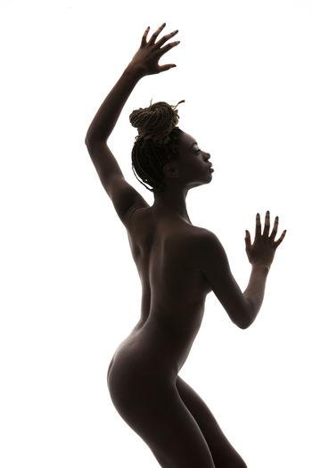 Afro Plastic Posers Woman Afrohair Girl Photo Photooftheday Studio Shot