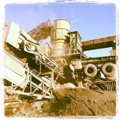 Coolest  BIG Funny Looking stone cruscher machine @ Dannemora !!!