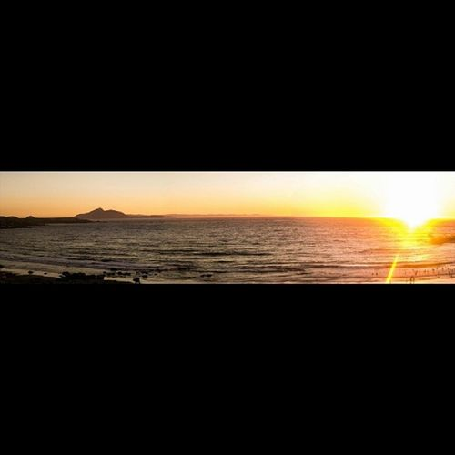 Puesta de sol en Totoralillo Sunset Beach Totoralillo Summer Panoramic Coquimbo Serenanoesserena Chile