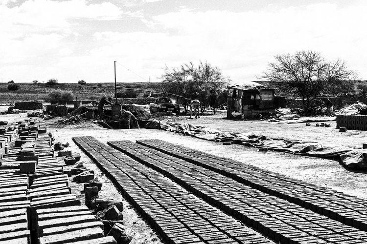 Black Black & White Black And White Photography Blackandwhite Bricks Brickyard Claybrick South Africa