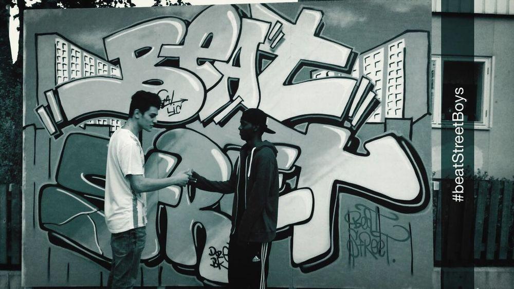 Writing On The Walls Street Art Bad Boys Peace