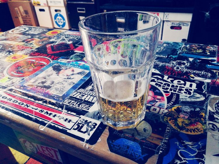 Drink Indoors  Table Drinking Glass Alcohol No People Food And Drink Beer Koelsch Freshness Multi Colored