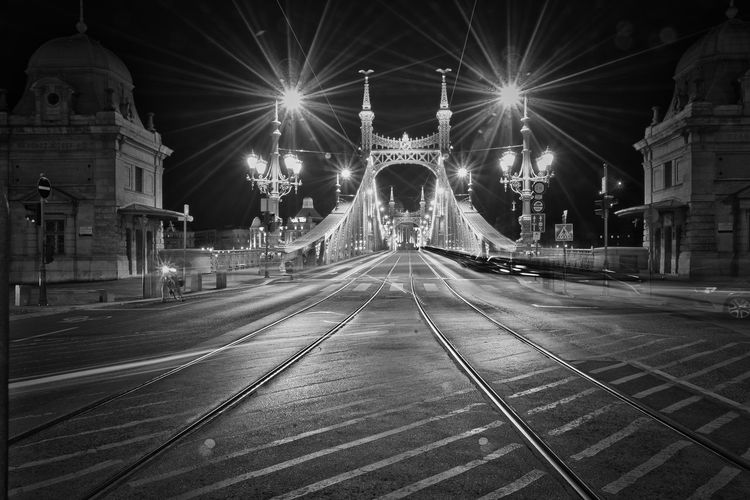 Selected For Partner Budapest Budapest, Hungary Hungary🇭🇺 Liberty Bridge Liberty Bridge Budapest Blackandwhite Black And White Black & White Blackandwhite Photography Black And White Photography Nightphotography Streetphoto_bw Street City Illuminated Cityscape Place Of Worship Celebration Bridge - Man Made Structure Religion Architecture Building Exterior Built Structure HUAWEI Photo Award: After Dark