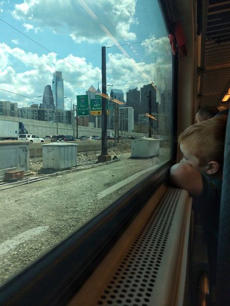 Traveling Home For The Holidays Cloud - Sky Transportation Rail Transportation Train Kid Boy Traveling Long Goodbye The Traveler - 2018 EyeEm Awards