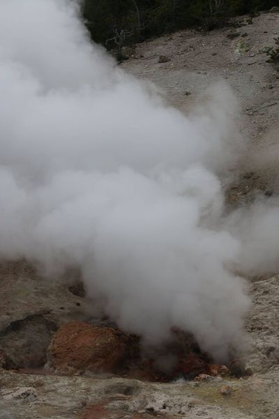 Beauty In Nature Day Geology Geyser Heat - Temperature Hot Spring Landscape Nature No People Outdoors Physical Geography Power In Nature Scenics Smoke - Physical Structure Steam Volcanic Landscape