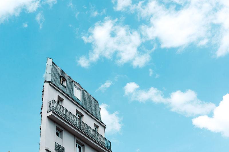 Architecture Blue Building Exterior Built Structure Cloud - Sky Day France Gallerie Lafayette Laffayete Louvre Low Angle View Napoleon No People Outdoors Paris Sky Sun Sunlight Sunset Text The Architect - 2017 EyeEm Awards The Great Outdoors - 2017 EyeEm Awards The Street Photographer - 2017 EyeEm Awards