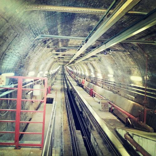 Istiklal Caddesi Beyoğlu Tunnel Traveling